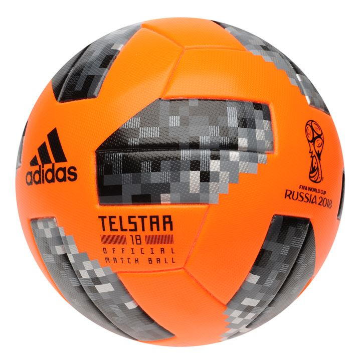 Футболна топка adidas Telstar 18 Official Winter World Cup Match