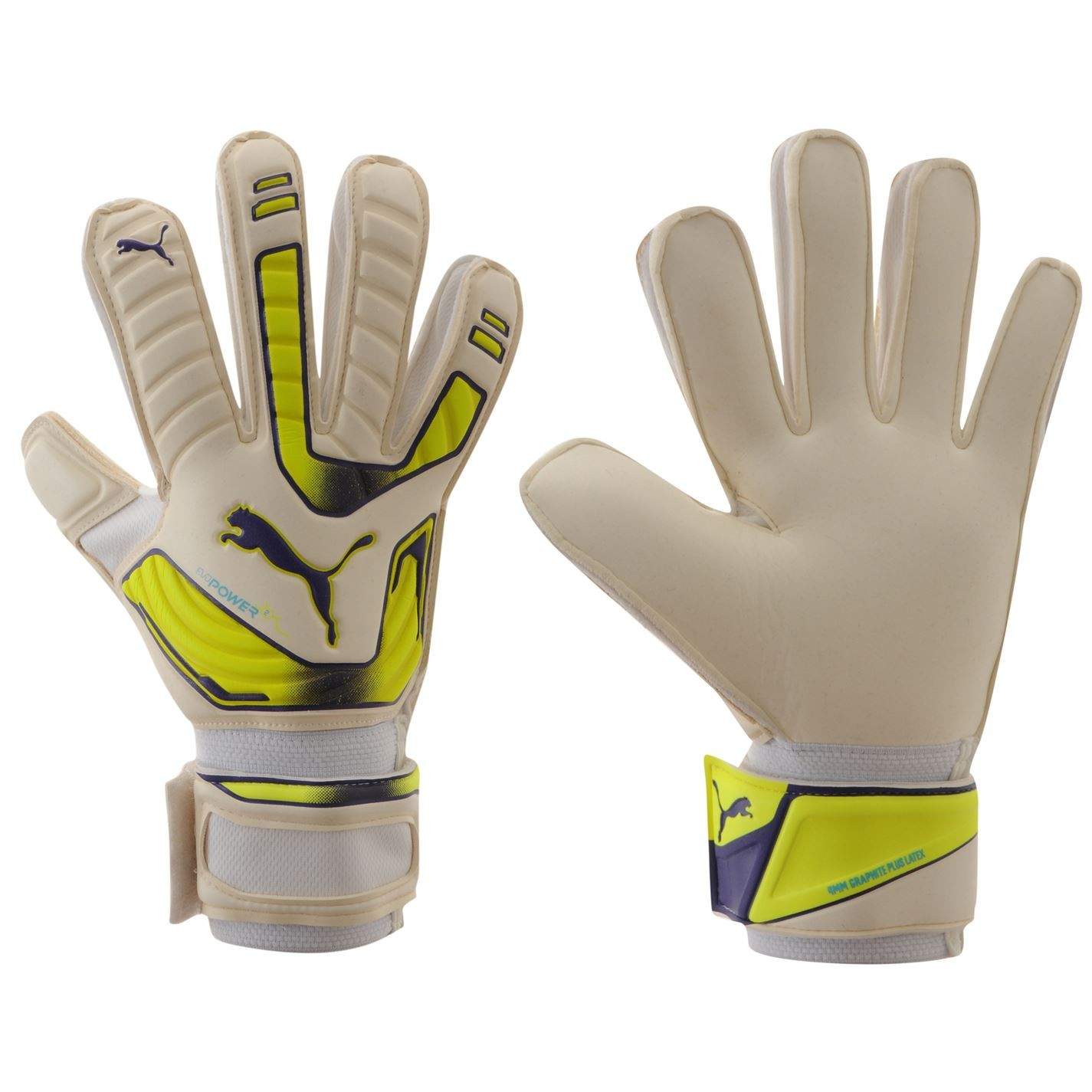 Вратарски ръкавици PUMA EVOPOWER GRIP GLOVES - WHITE/YELLOW