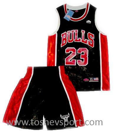 f5f4dfb44bc Детски Баскетболен Екип NBA Чикаго Булс JORDAN 23, Онлайн магазин за ...