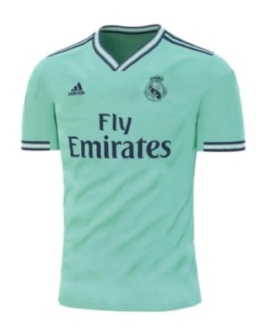 2019-2020 г. Adidas Real Madrid Футболни Екипи Зелени